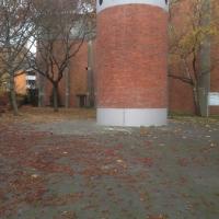 Seitlich isolierter Turm von 1961