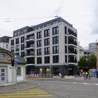 Fassade:  (aus Mauerwerk und Beton)