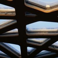 Detail nach Titel: Detail Dachaufbau (aus Holz und Kunststoff)