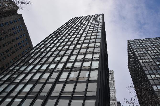 Lake Shore Drive Apartments Ludwig Mies Van Der Rohe Chicago