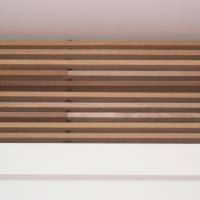 Detail nach Titel: Detail Decke mit Holz Verkleidung (aus Putz und Holz)