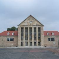 Fassade: Hauptansicht des Festspielhauses