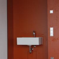 Einbauten: Waschbeckennische im Schulzimmer