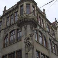 Fassade mit Erker