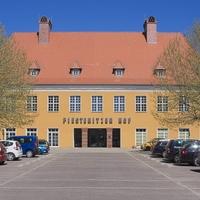 Fassade: Der Piestritzer Hof im Mittelpunkt