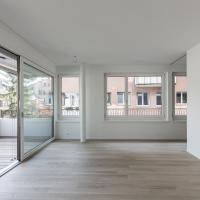 Wohnen: Öffnen der Wohnung über die Fensterecken