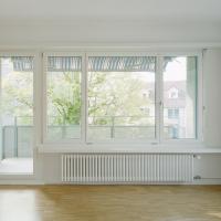 Wohnen: Mit Blick über den neuen Balkon nach draussen