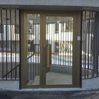 Türe: Tür Eingang Tiefgarage