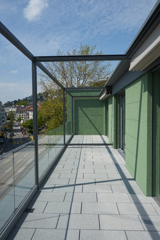 Aussenraum: Dachterrasse