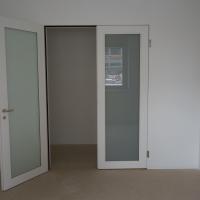 Türe: Doppelte Tür zum Essraum