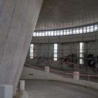 Rampe: Die alten Rampen der Garage im Turm