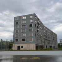 Fassade: Blick von der Wehntalerstrasse