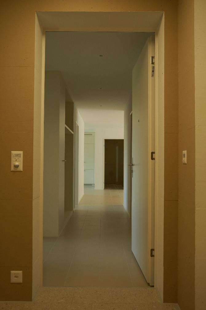 Blick in die Wohnung
