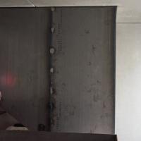 Einbauten: Struktur der Stahlplatten (aus Metall)