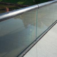 Geländer:  (aus Glas)