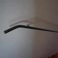 Geländer: Einfacher Handlauf (aus Metall)