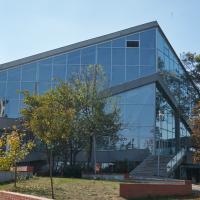 Dach: Die Sporthalle selbst als Schalenbau