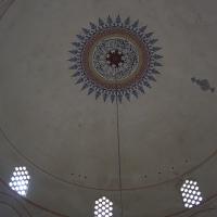 Decke: Die Kuppel von unten mit der Bemalung (nicht ursprünglich) (aus Putz)