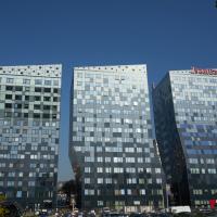 Fassade: Die 3 Glastürme (aus Glas)