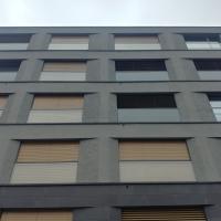 Fassade:  (aus Beton)