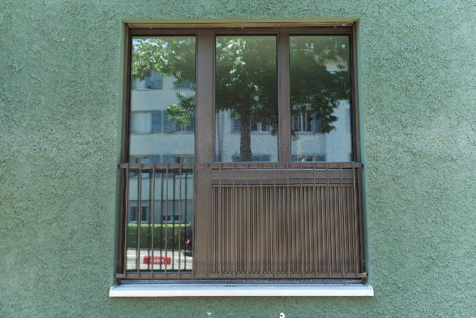 Fenster: Fensterelement von Aussen