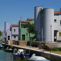 Wohnsiedlung auf Mazzorbo