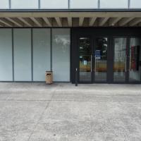Eingangsbereich: Eingangsbereich mit Betonvordach
