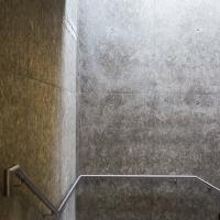 Erschliessung: Treppenbereich mit Sichtbeton (aus Beton)