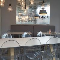 Essen: Das Cafe im Erdgeschoss des Museums