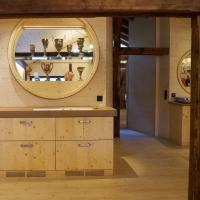 Einbauten: Die Pokale (aus Holz)