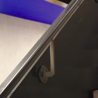 Geländer: Detail Handlauf (aus Metall)