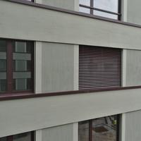 Fassade: Fassade im Hof (aus Putz)