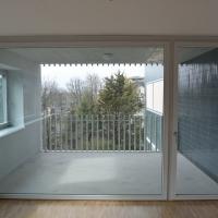 Wohnen: Blickbeziehung Loggia